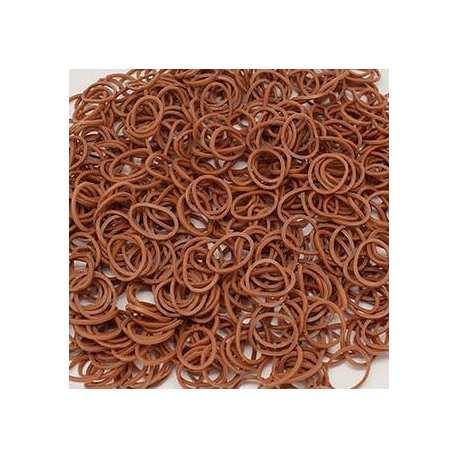 Rubber Bands Skin Brown