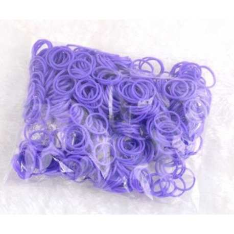 Rubber Bands Solid Purple 2
