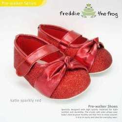 Katie Sparkly Red