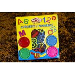 Fun Doh Alphabets & Numbers