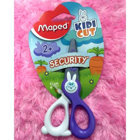 Maped Security Scissor Green