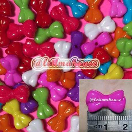 Ribbon Plastic Beads