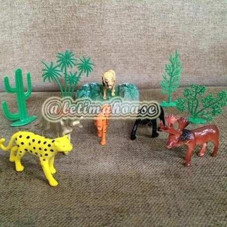 Wild Animals Medium Miniature