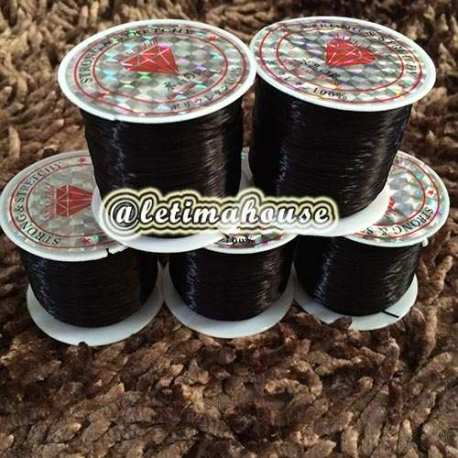 Korean black elastic strings