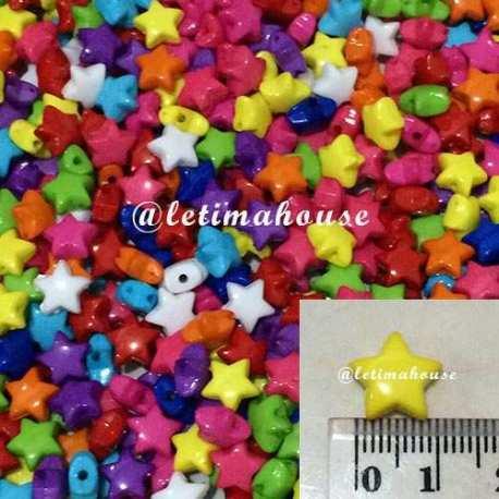 Star Plastic Beads