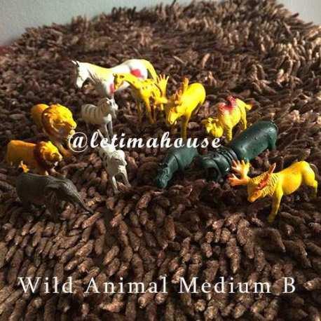 Wild Animals Miniature Medium B