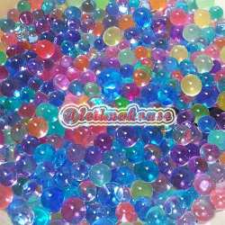 Water Beads Mixed Colour Large