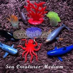 Miniatur Binatang laut Sedang
