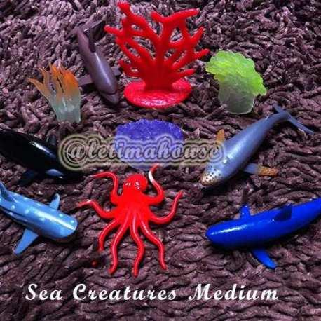 Sea Creatures Miniature Medium