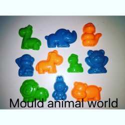 Motion Sand Animal World Mould