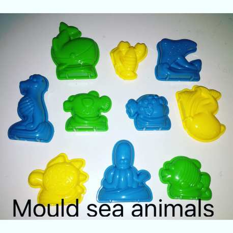 Motion Sand Sea Creatures Mould
