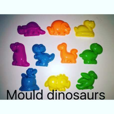 Cetakan Dinosaurus Motion Sand