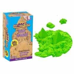 Pasir Kinetik Motion Sand warna Hijau