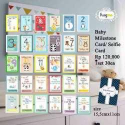 Hug Me Baby Milestone Card