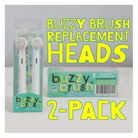 Jack N' Jill Replacement Head Buzzy Brush