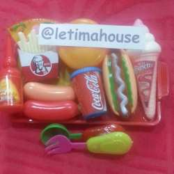 Mainan makanan cepat saji