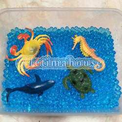 Water Beads Warna Biru Besar