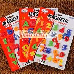 MAGNETIC ALPHABETS & NUMBERS SETS