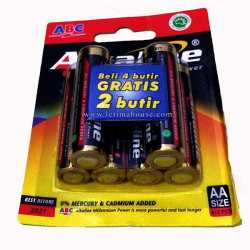 Battery ABC Alkaline AA