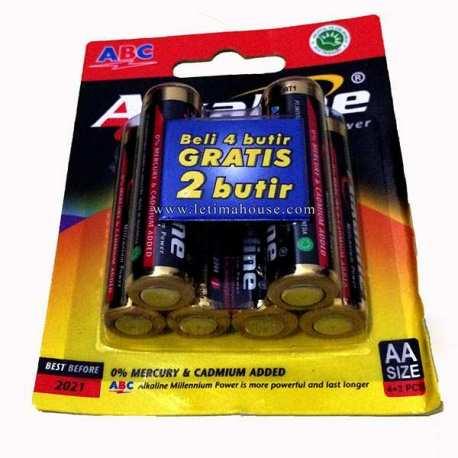 Battery ABC Alkaline AA