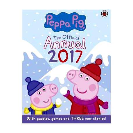 Buku Peppa Pig The Official Annual 2017 Hardcover