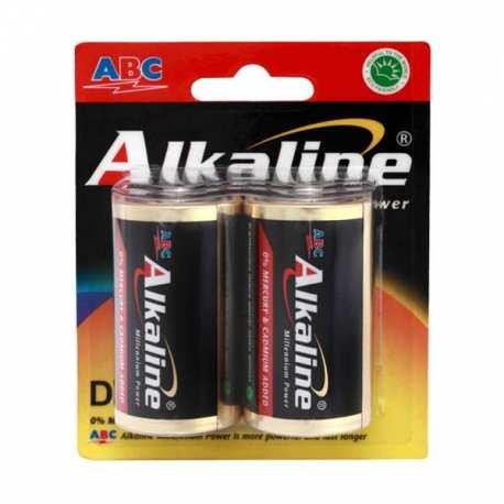 Baterai ABC Alkaline D